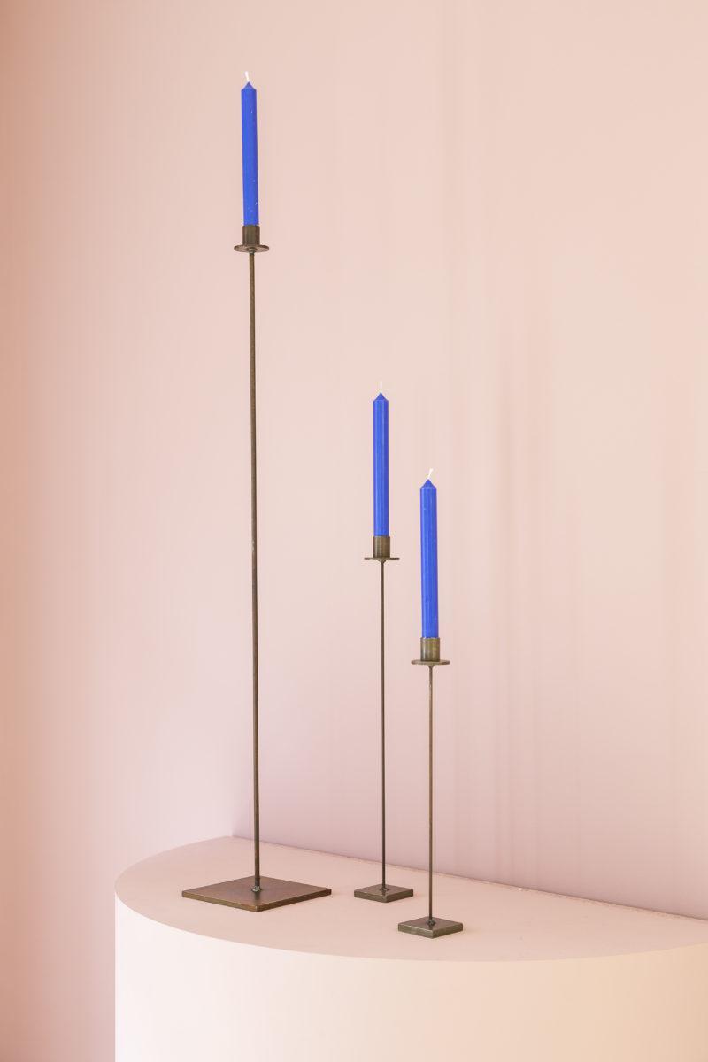 candelero, candelero pie, hecho en España