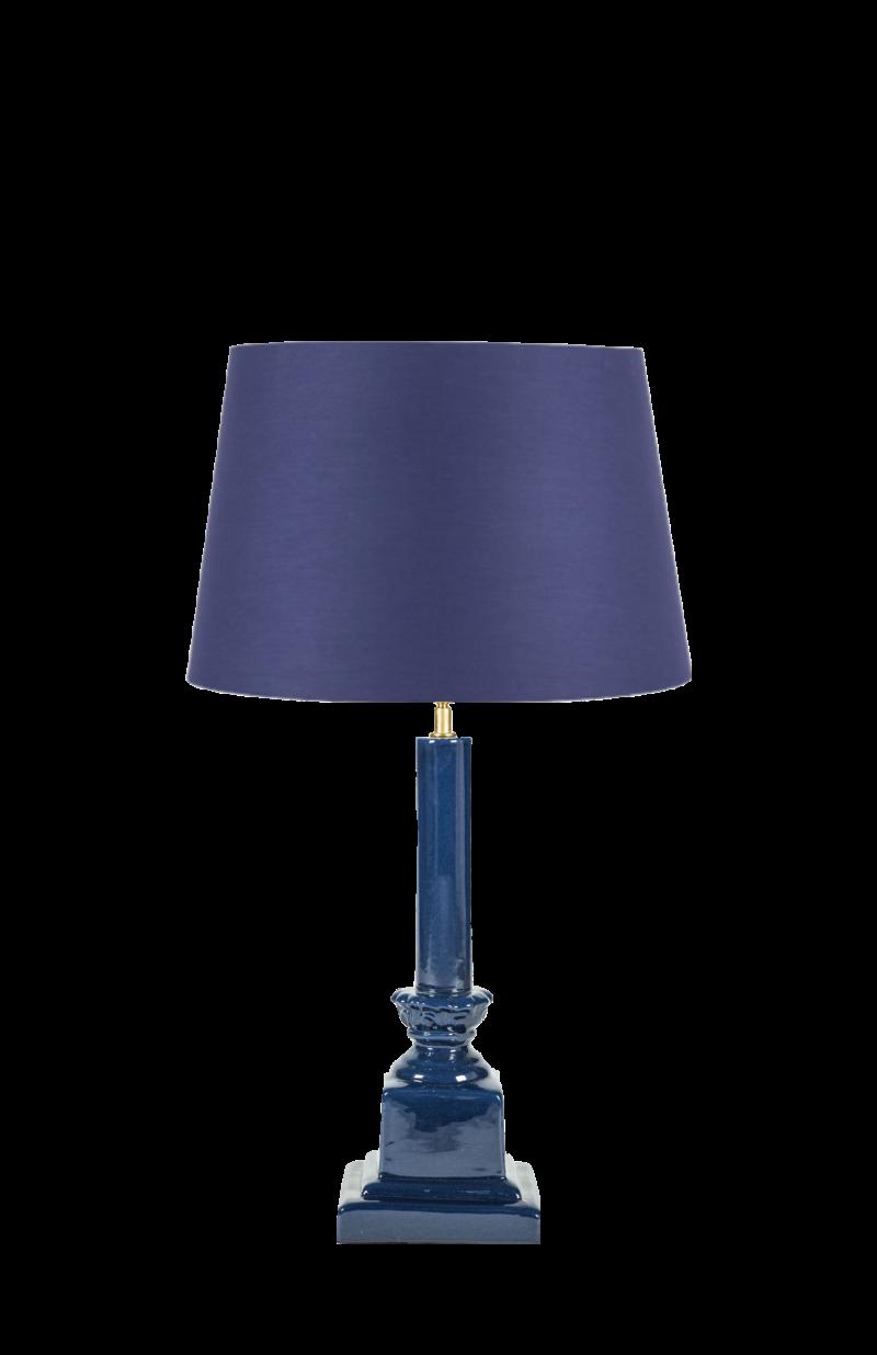 LAMPARA AZUL , LAMPARA INDIETRO, LAMPARA MESA