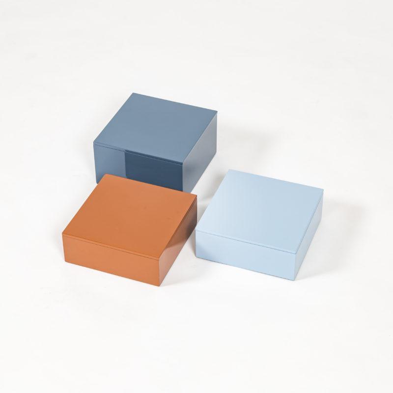 cajas colores, joyeros, cajas laca