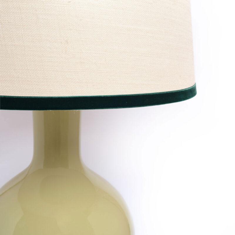 lámpara verde jade, indietro