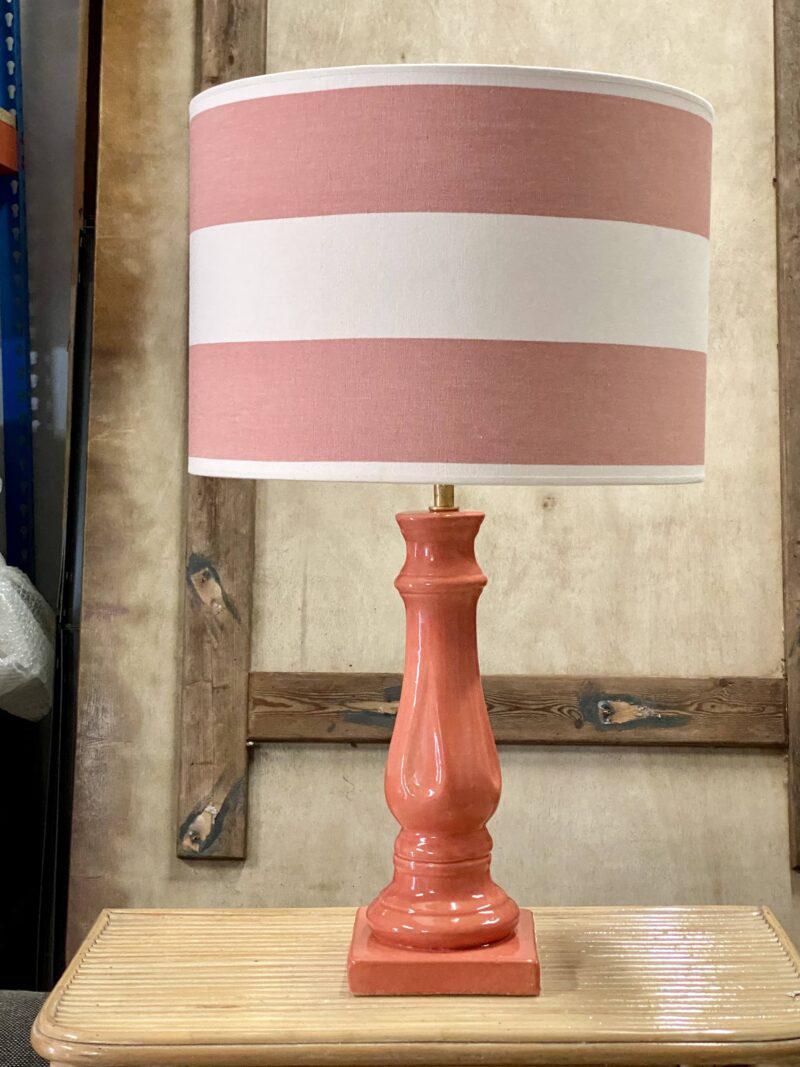 lámpara, salmón, indietro, color